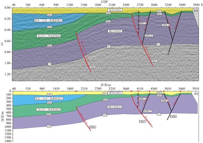 基于浅层反射地震勘探技术的大庆地区近地表构造特征研究