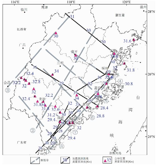 福建地区地壳上地幔速度结构研究进展