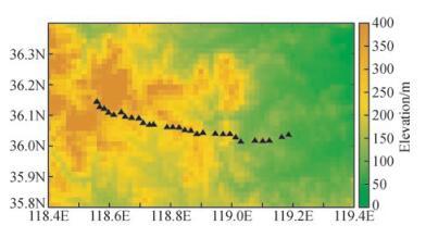 山东地震分布图_基于波形相似性的远震初至拾取方法进展与对比研究