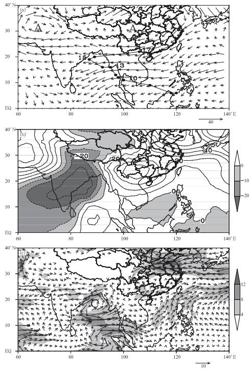 涡度平流_2013年5月华南强降水与中国南海夏季风爆发