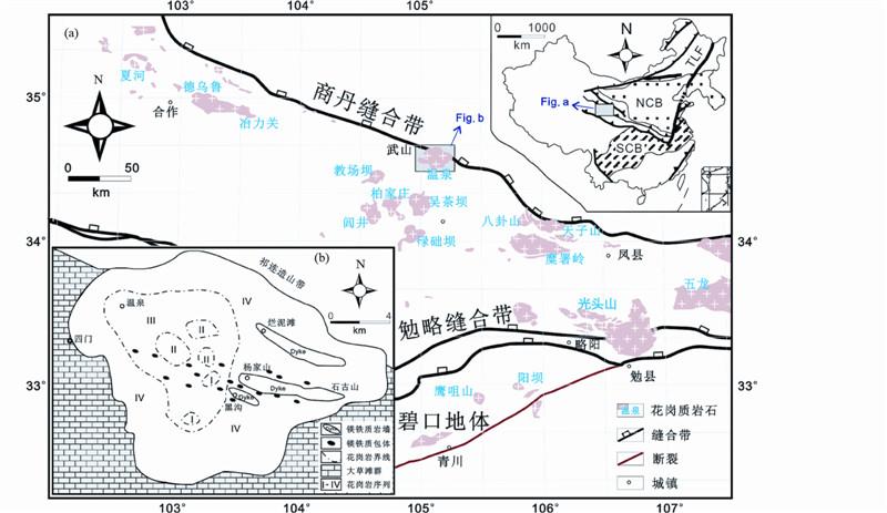 西秦岭温泉钼矿床成矿作用时限及其对斑岩型钼矿床图片