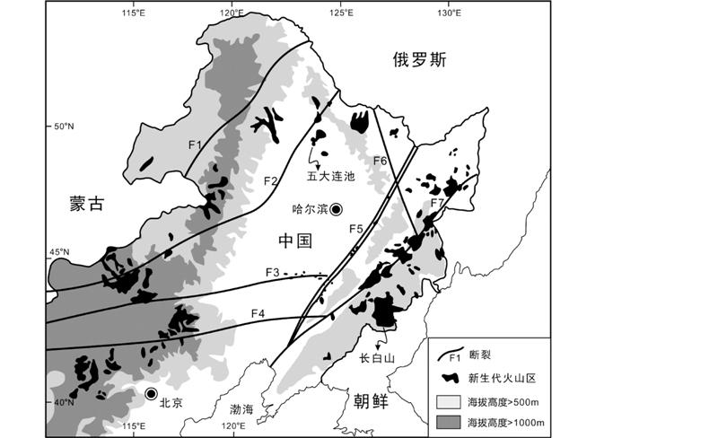 中国大陆新生代典型火山区温室气体释放的规模及其成因图片
